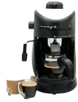 New Capresso Steam Pro 4 Cup Expresso Cappuccino Machine Ope
