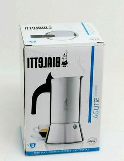 NEW Bialetti Venus Induction Espresso Maker ~ 6 Cup ~ Stainl