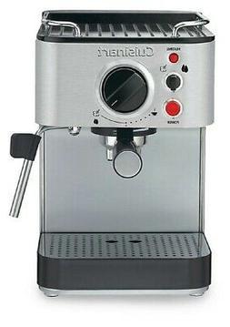 Stainless Steel Cuisinart EM-100 1000-Watt 15-Bar Espresso Maker
