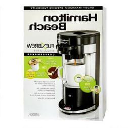 NIB Hamilton Beach FlexBrew 49995R 1 Cup Coffee & Espresso M