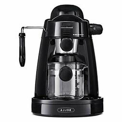 No-Mess Home Espresso Maker w/ Built In Milk Frother & Easy