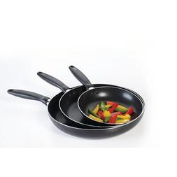 Concord Cookware 3-Piece Non-Stick Frying Pan Set