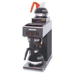 Bunn-O-Matic VP172BLK 12-Cup Two-Station Commercial Pour-O-M