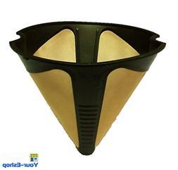 Permanent Cone Coffee Tea Espresso Maker Filter Basket Reusa