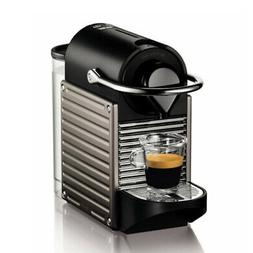 Pixie Espresso Maker, Electric Titan - Nespresso - C60-US-TI