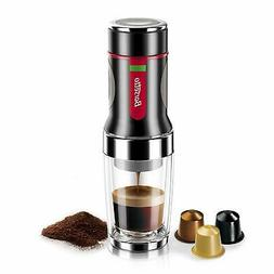 Barsetto Portable Mini Espresso Coffee Maker Machine Hand Pr
