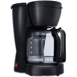 Costway Portable Espresso Coffee Maker, 10-Cup Modern Design