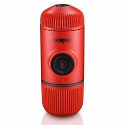 Wacaco Portable Espresso Maker,  Red Patrol Edition, 18 Bar