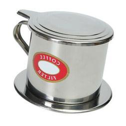 Pour Over Vietnamese Coffee Filter Espresso Maker Single Cup