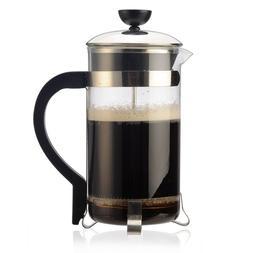 Primula 8-Cup Classic Coffee Press – Temperature Safe Glas