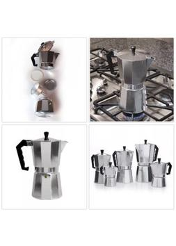 Primula aluminium Stovetop for bold, fully Espresso Coffee M