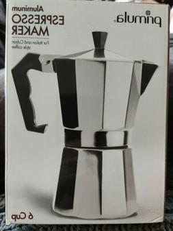 primula coffee espresso maker aluminum stovetop moka