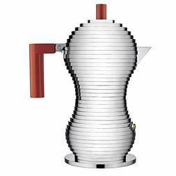 Alessi Pulcina Espresso Coffee Maker, 3 Cup Induction Model