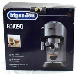 READ Delonghi EC680M DEDICA 15-Bar Pump Espresso Latte Maker