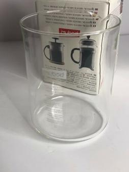 Bodum Replacement Glass Two Cup 17-Ounce Spare Glass Free Sh