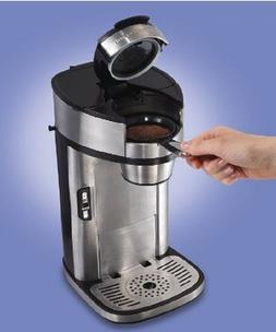 Hamilton Beach The Scoop Single Serve Coffeemaker Stainless