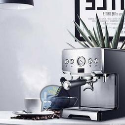 Semi-Automatic Coffee Machine Cappuccino Maker Extractor 15B