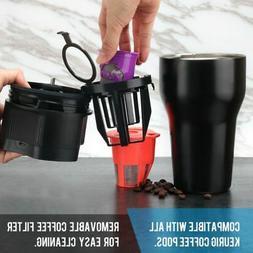 Semi-Automatic Coffee Maker Espresso Coffee Machine for Trav