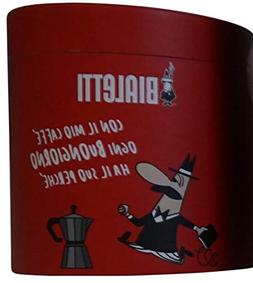 """Bialetti: Set Moka Express 2 Cups + 1""""Buongiorno"""" Paper Note"""