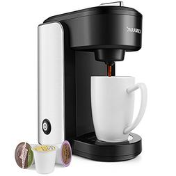 CHULUX Single Serve Coffee Maker,Stainless Steel Coffee Brew