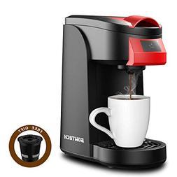 Single Serve Coffee Maker, SOWTECH 2 in 1 3.5 Bar Coffee Mac