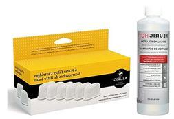 Keurig Six Water Filter Cartridges & Keurig Descaling Soluti