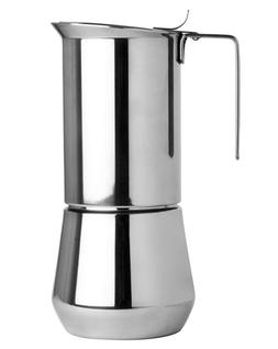Ilsa Stainless Steel 9 Cup Stovetop Espresso Maker Brand New
