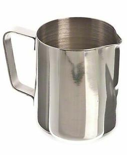 Stainless Steel Frothing Pitcher Jug Kitchen Mug 12 Oz Brand