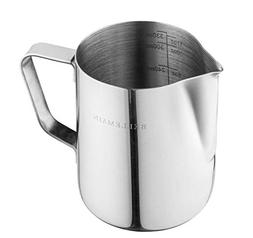Stainless Steel Milk Frothing Pitcher, by Bellemain— Ideal