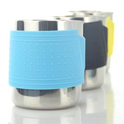 Stainless Steel Milk Pitcher Barista Latte Frothing Mug Espr