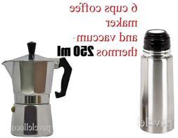 Stove Top  Coffee Maker Espresso cuban 6 Cups Cafetera Cuban