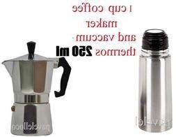 Stove Top Espresso Coffee Maker cuban 1 Cups Cafetera Cubana