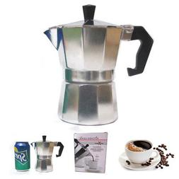 Stove Top Espresso Cuban Coffee Maker pot Cappuccino Latte 3