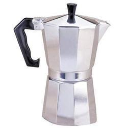 9 cup Stovetop Espresso Coffee Macine, Moka Pot Maker for It