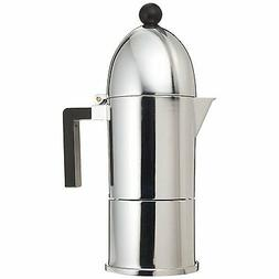 "Alessi ""La Cupola"" 6 Cup Stovetop Espresso Coffee Maker"