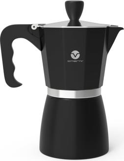 Vremi Stovetop Espresso Maker - Coffee Maker Stove Top 6 Cup