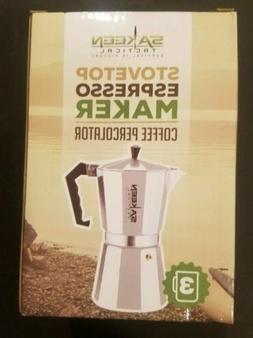 StoveTop Espresso Maker Coffee Makers Percolator Cuban Cafet