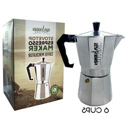 StoveTop Espresso Maker Coffee Makers Percolator Cuban Cafet