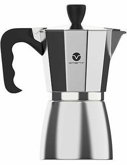 Vremi Stovetop Espresso Maker - Moka Pot Coffee Maker for Ga