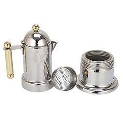 Prettyia Stovetop Espresso Maker - Moka Pot Coffee Maker for