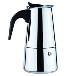 6-Cup Stovetop Espresso Maker Italian Moka Coffee Pot - Best