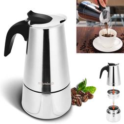 Godmorn Stovetop Espresso Moka Pot Coffee Maker Percolator S