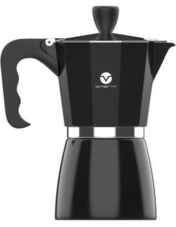 Vremi Stovetop Espresso -Moka Pot Coffee Maker for Electric