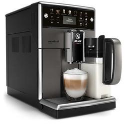 Saeco super-automatic espresso coffee machine with an adjust