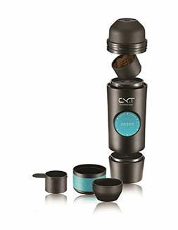 T.Y.J Espresso Maker,Coffee Machine Camping,Mini Espresso Po