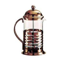 Service Ideas T277BRNZ Brick Coffee Press, Bronze, 350 mL