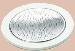 Ilsa 9/10 cup Turbo espresso pot gasket and filter screen re