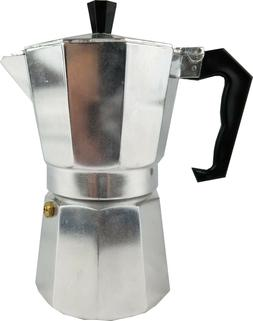 Aluminum Espresso Coffee Maker / Pot,1 Cup / 3 Cups/ 6 Cups