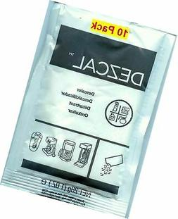 Urnex Dezcal Activated Scale Remover Powder, 28g , 10 Pack