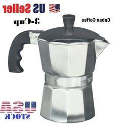 IMUSA USA B120-43V Aluminum Espresso Stovetop Espresso Maker
